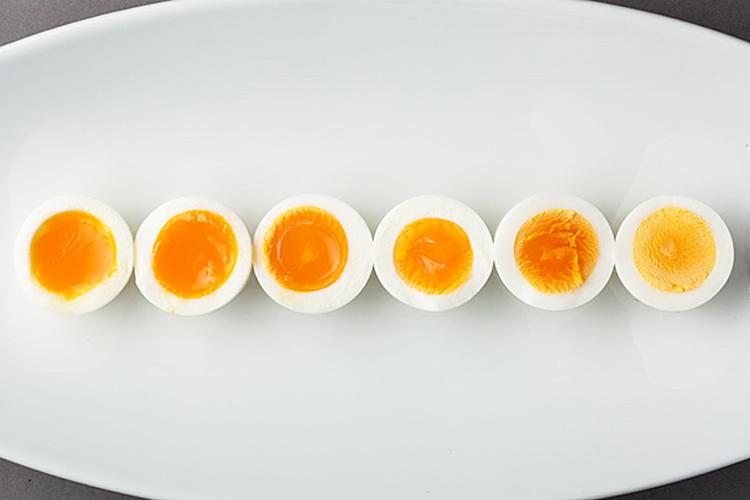 ゆで 卵 熱湯 から